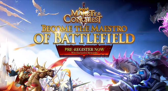 Majesty & Conquest Is Now up for Pre-Registration!