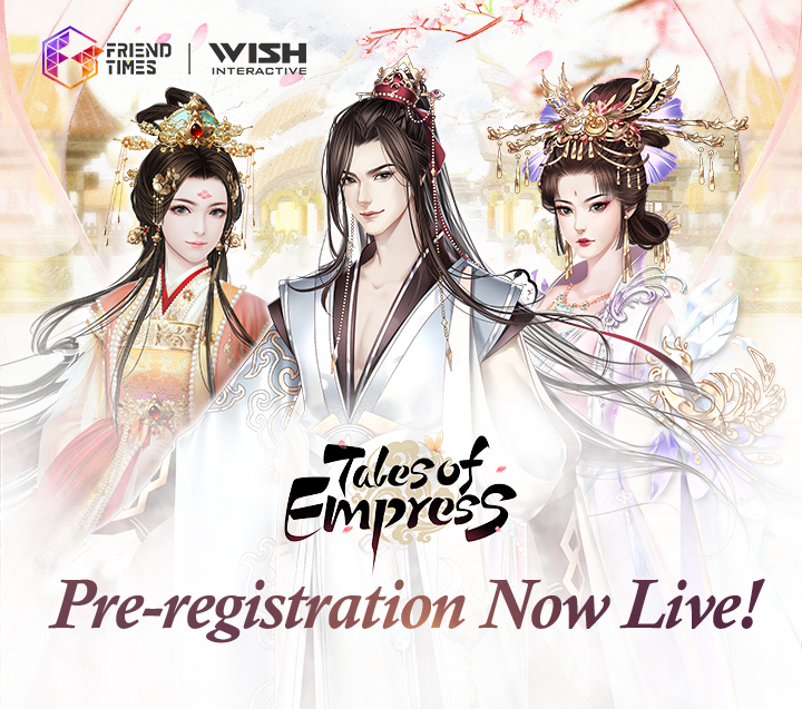 Pre-registration Event for Tales of Empress Now Live
