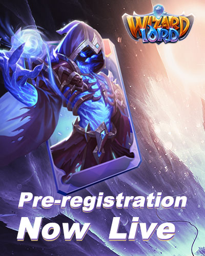 Pre-registration of Wizardlord Now Live