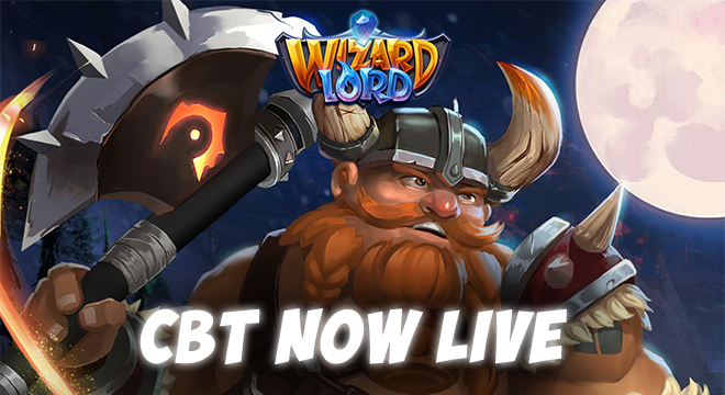 WizardLord CBT Now Live!